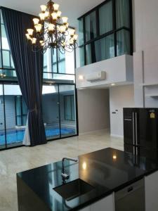 เช่าบ้านสุขุมวิท อโศก ทองหล่อ : บ้านเดี่ยวหรู พร้อมสระน้ำ สุขุมวิท 39 [Unfurnished] Luxury pool villa SKV. 39